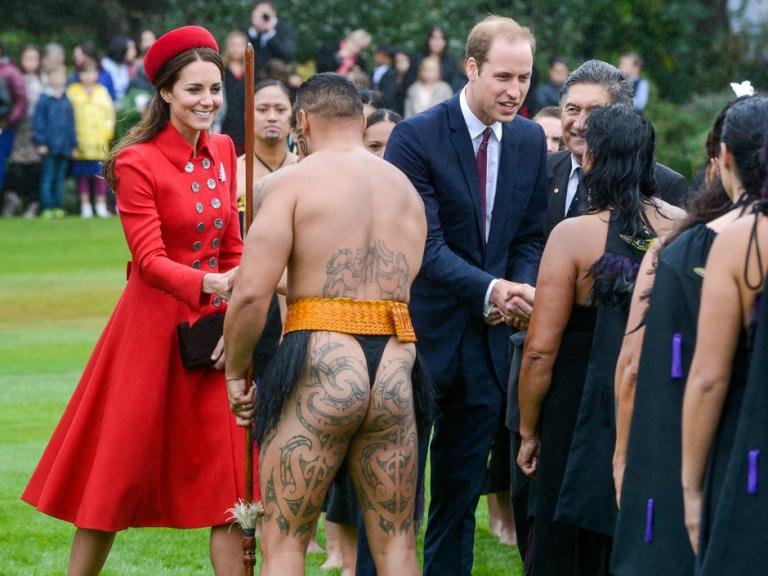 Royals visit New Zealand