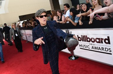 LAS VEGAS, NV - MAY 17:  Singer David Lee Roth of Van Halen attends the 2015 Billboard Music Awards at MGM Grand Garden Arena on May 17, 2015 in Las Vegas, Nevada.  (Photo by Michael Buckner/BMA2015/Getty Images for dcp)