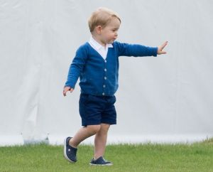 Prince George British Royals at Beaufort Polo Club, Gloucestershire, Britain - 14 Jun 2015 (Rex Features via AP Images)