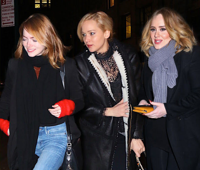 14 Things Adele Jlaw And Emma Stone Discussed At Dinner